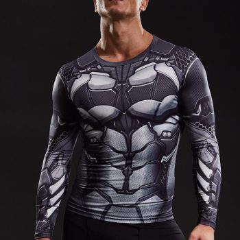 Batman Long Sleeve Dry-Fit Shirt