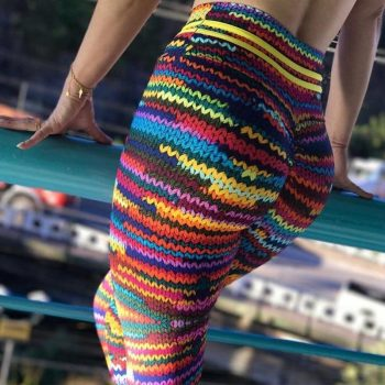3D Knitted Leggings