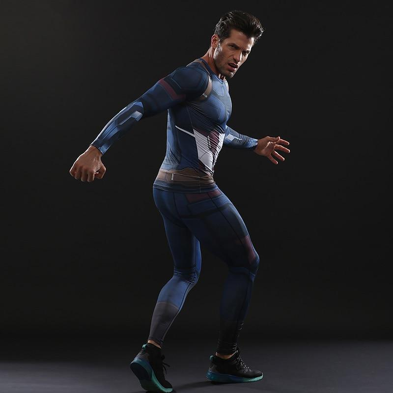 Captain America Infinity War Dry-Fit Pants