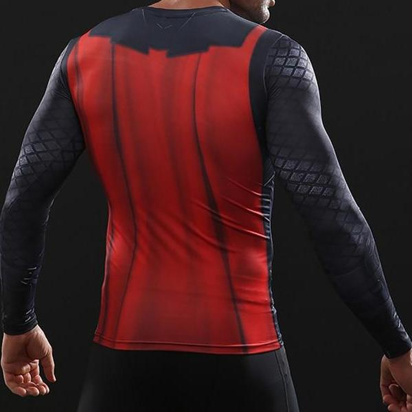 Thor Infinity War Dry-Fit Long Sleeve Shirt