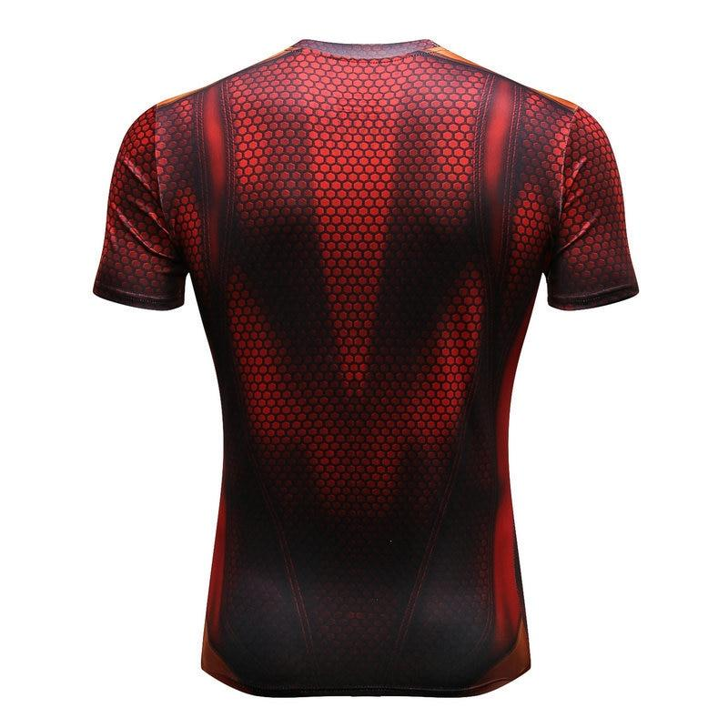 Carbon Webhead Compression Tee