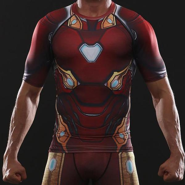 Iron Man Infinity War Dry-Fit Shirt