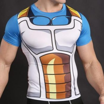 Vegeta Battle Armor Dry-Fit Shirt