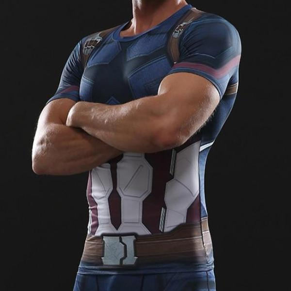 Captain America Infinity War Dry-Fit Shirt
