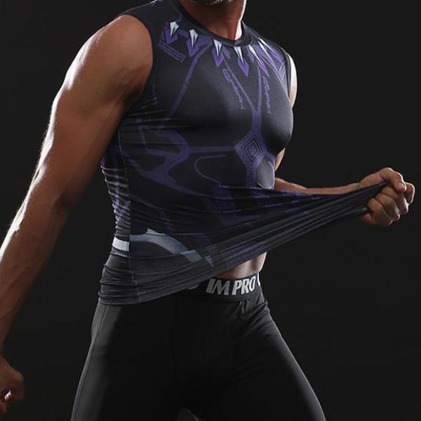 Black Panther Infinity War Dry-Fit Tank Top