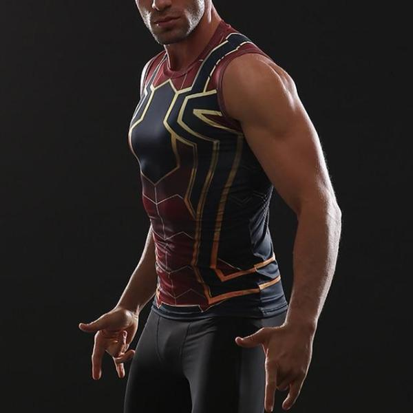 Spiderman Infinity War Dry-fit Tank Top