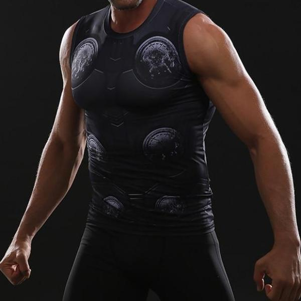 Thor Infinity War Dry-Fit Tank Top