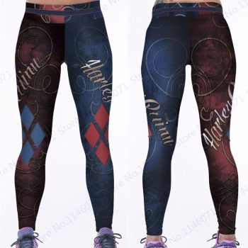 Harley Quinn Women's Dry-Fit Leggings