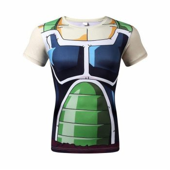 Bardock Battle Armor Dry-Fit Shirt
