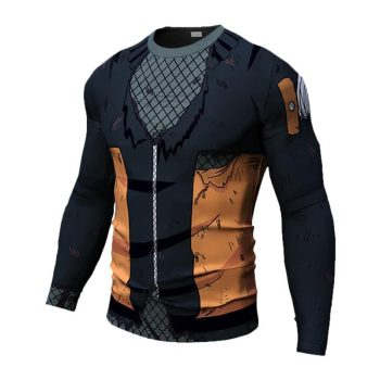 Naruto Long Sleeve Dry-Fit Shirt