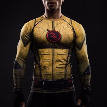 Reverse Flash Long Sleeve Dry-Fit Shirt