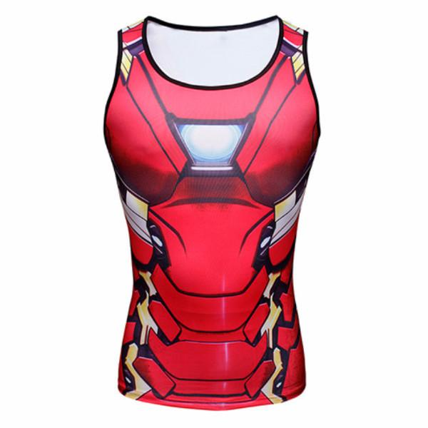 Iron Man Dry-Fit Tank Top