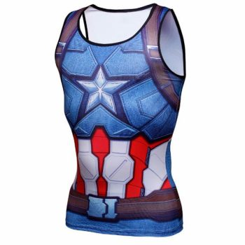 Captain America Dry-Fit Tank top