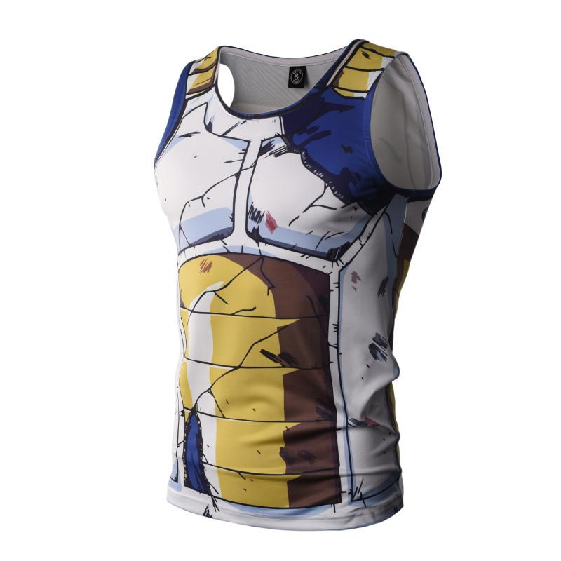 Trunks Battle Torn Armor Dry-Fit Tank Top