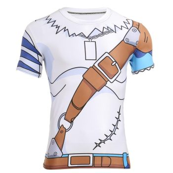 Weregarurumon Dry-Fit Digimon Shirt