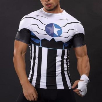 Future Captain America Dry-Fit Tee