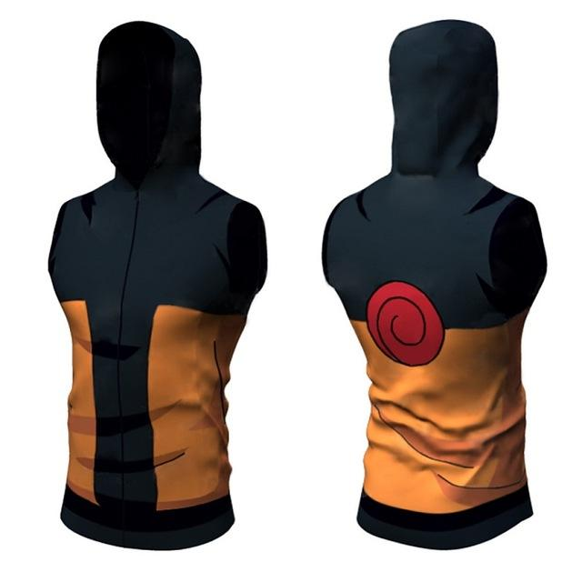 Naruto Dry-Fit Hooded Tank