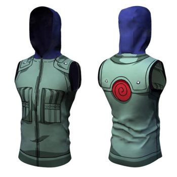 Kakashi Dry-Fit Hooded Tank