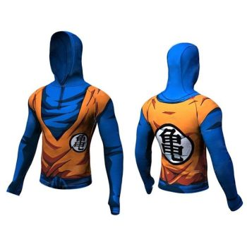 Goku Dry-Fit Hooded Shirt