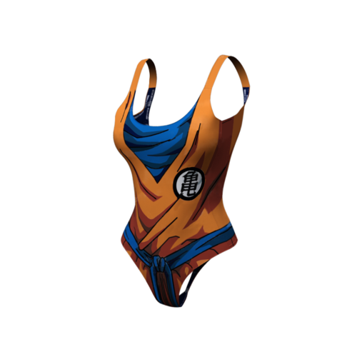 Goku Dry-Fit One Piece Swim Suit