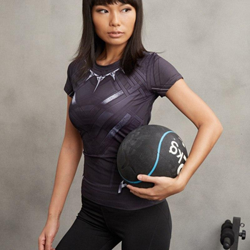 Black Panther Women's Dry-Fit Tee