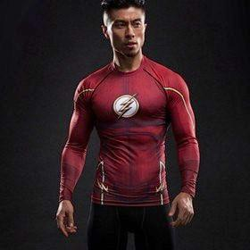 Flash Long Sleeve Dry-Fit Shirt