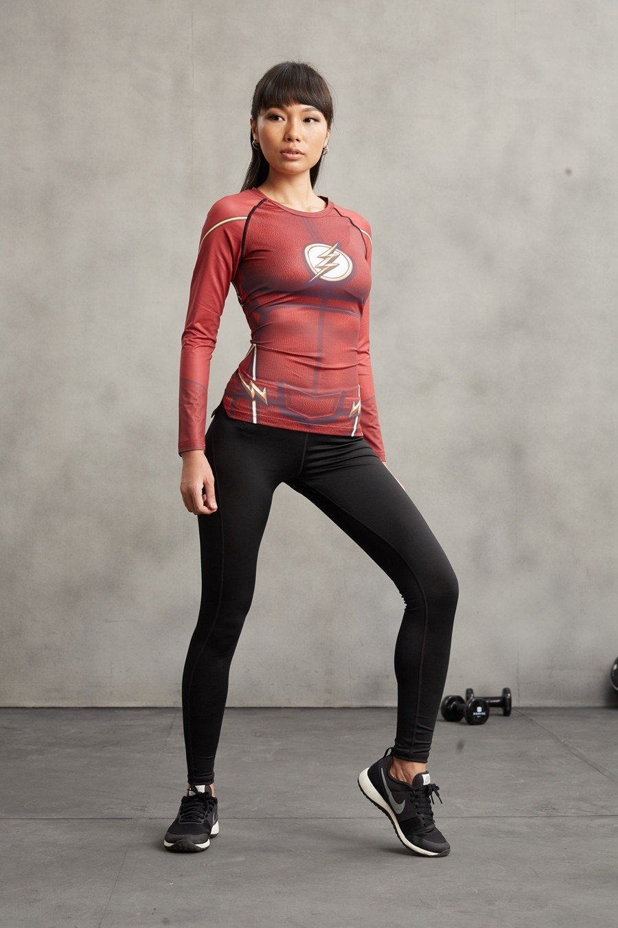 Flash Women's Long Sleeve Dry-Fit Tee