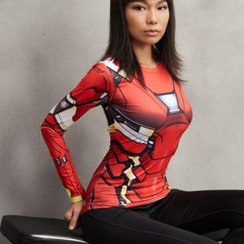 Iron Man MK46 Long Sleeve Women's Dry-Fit Tee