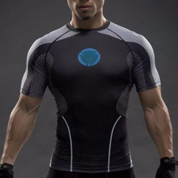 Iron Man Under Suit Dry-Fit Shirt