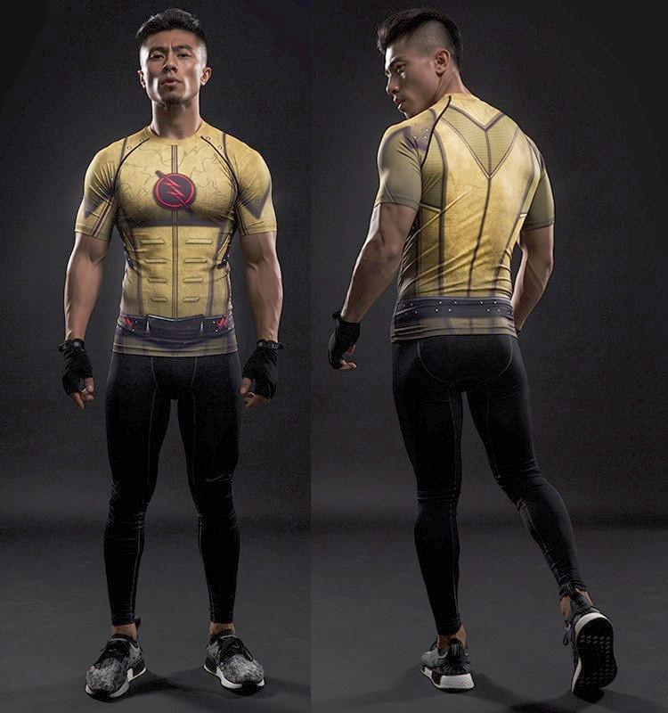 Reverse Flash Dry-Fit Shirt