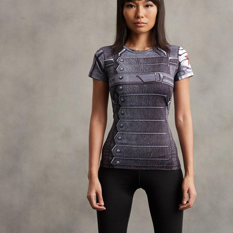 Winter Solider Women's Compression Tee