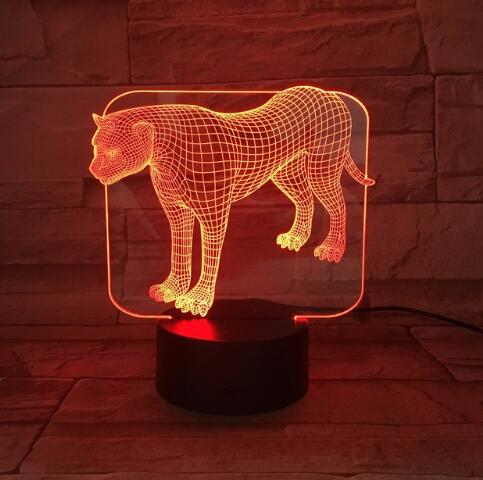LED Black Panther Light