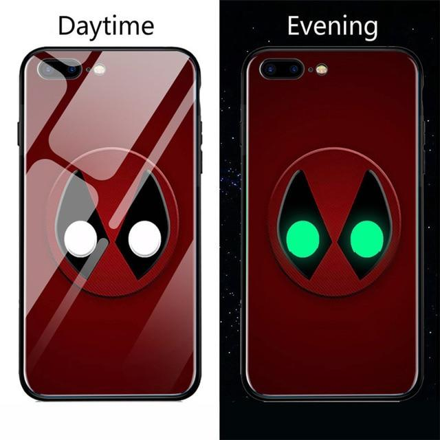 Venom Luminous Glass iPhone Case