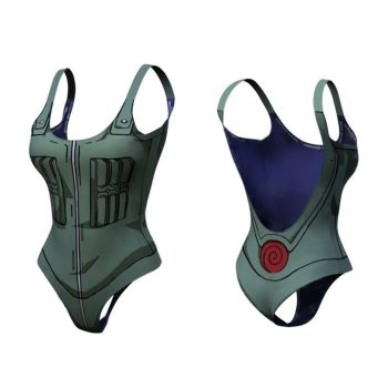 Kakashi Dry-Fit One Piece Swimsuit